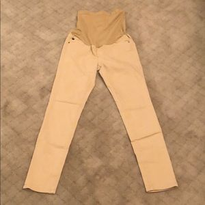 AG Khaki Maternity Jeans -  Size 28